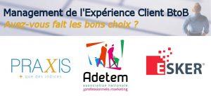 Le management de l'expérience client B2B ?