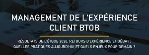 Restitution étude Expérience Client B2B